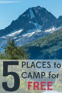 If you're planning a camping trip this summer, you have to check out these 5 places to camp for free. Odds are there's one near you.