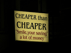 Do not confuse frugal with cheap