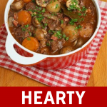 Hearty Beef Stew for a Weeknight Treat