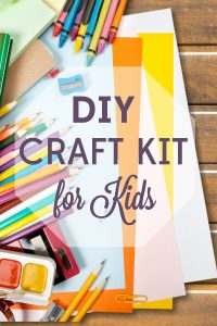 Craft kits are convenient, but the mark-up is crazy! Follow our guide for a DIY craft kit that will have your kids creating for hours.