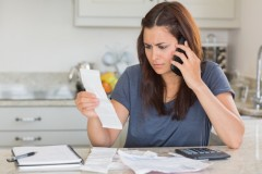 Always call if something looks wrong on your bill. Shutterstock