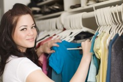 What in your closet can bring you in extra cash? Via Shutterstock