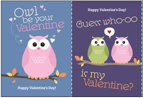 Monday Freebies – FREE Valentine's Day Cards