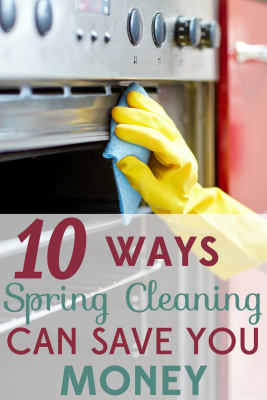 Spring cleaning benefits your home AND your wallet! We've got 10 ways that spring cleaning can save you money!