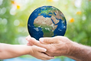 Good for you, good for the earth via Shutterstock