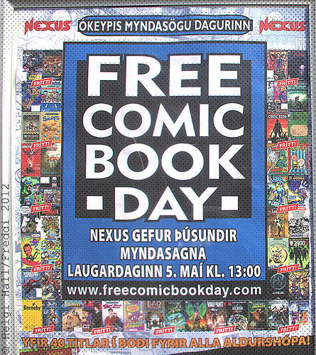 Saturday Freebies – Free Comic Books