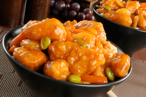 Score FREE orange chicken from Panda Express tonight! Via Shutterstock