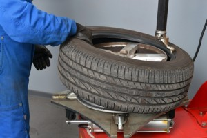 Is it time to change your car's tires? Via Shutterstock