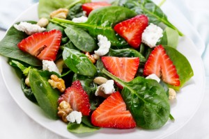 Give your stove a break this summer and make delicious salads for dinner! via Shutterstock