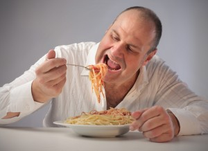Dads eat free spaghetti at Spaghetti Warehouse on Father's Day! Via Shutterstock