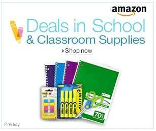 Back to School Deals on Amazon