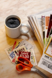 Coupon in just a few minutes each day - via Shutterstock