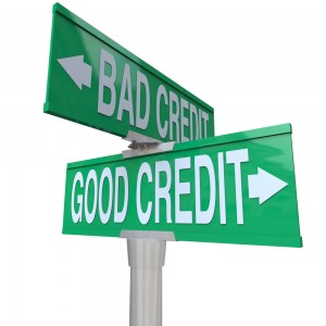 Stay on the road to good credit - via Shutterstock
