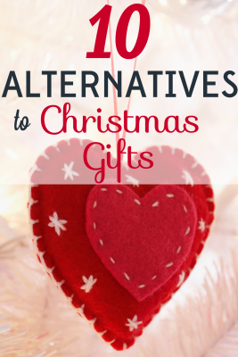 Christmas should be about being present, not giving presents. Find out how to do that with these 10 alternatives to Christmas gifts.