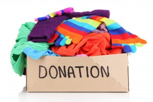 Recycle unused items easily with donation pick up - via Shutterstock.