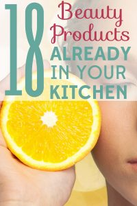 You have lots of natural skin care products already in your kitchen! Find out what they are and how to use them.