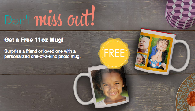 Thursday Freebies – Free Custom Photo Mug from Snapfish!