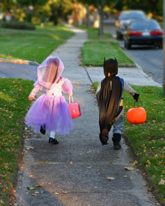 Turn trick or treating photos into a free collage from Walgreens! Via Shutterstock.