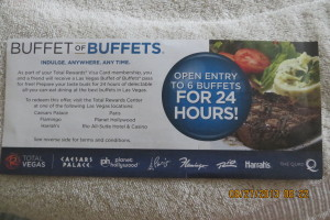 100 vegas buffet for free how one reader did it rh bargainbabe com las vegas 24 hour buffet ticket las vegas 24 hour buffet ticket