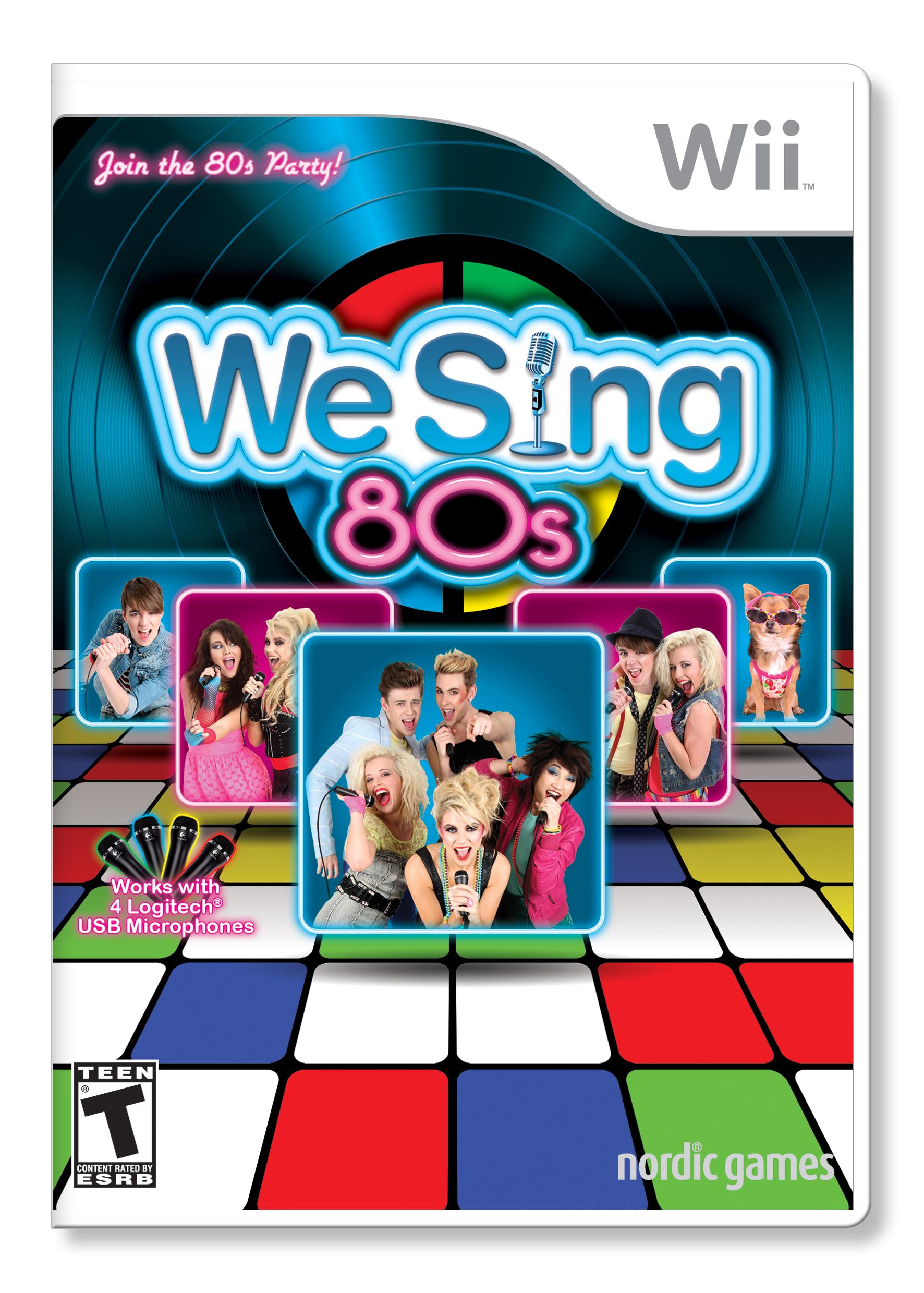 Win Wii Games WeSings 80s and WeSing POP!