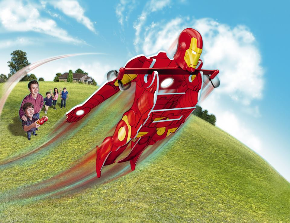 Win a $75 Iron Man RC Extreme Hero