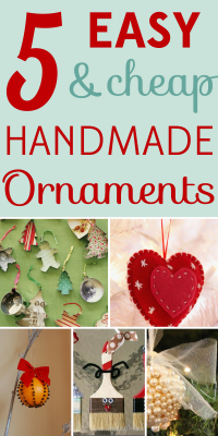 These handmade ornaments create a personalized touch, make great gifts, and are enjoyable projects leading up to the holiday season!