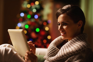 Shop easy this year with a holiday mobile app - via Shutterstock