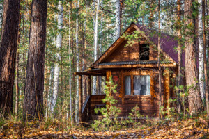 I dream of living off the grid! Via Shutterstock