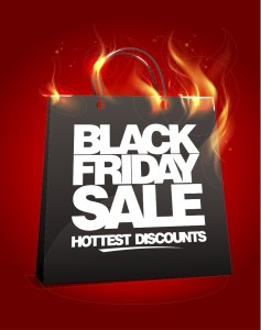 Check out the newest and hottest Black Friday deals! Via Shutterstock.