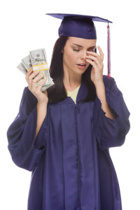 Use debt calculators to learn how to pay back that college debt. Via Shutterstock.