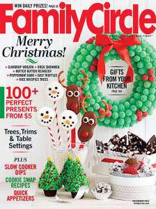 Score a free one year subscription to Family Circle Magazine today!
