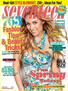 Score a free subscription to Seventeen Magazine today!