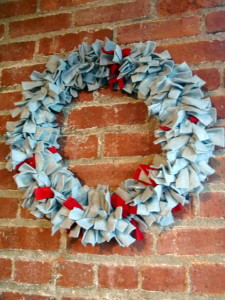 rag-wreath