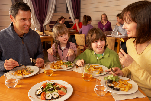 Score a free kid's meal at Chili's today! Via Shutterstock.
