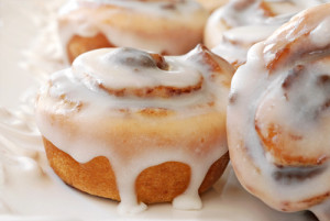 Score a sweet treat today! Grab a free cinnamon roll at 7-Eleven. Via Shutterstock.