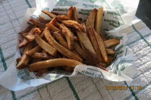 Fries at Wing Stop