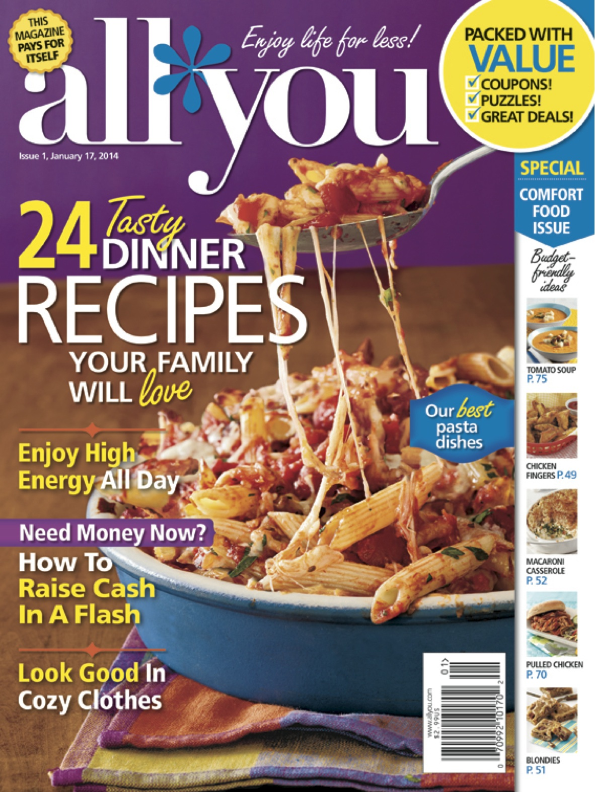 All You Magazine Giveaway: 10 Winners!