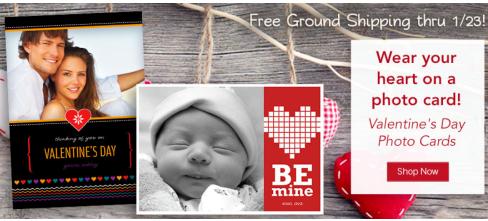 Thursday Freebies – Free Valentine's Day Photo Card
