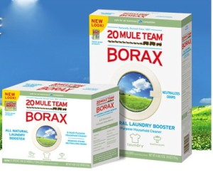 Borax has many household cleaning uses.