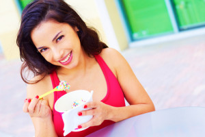 Score free frozen yogurt! Yum! Via Shutterstock.