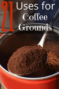 Coffee grounds are good for a lot more than just your morning cup of joe. Find out how coffee grounds can improve your home, your garden, even your skin!