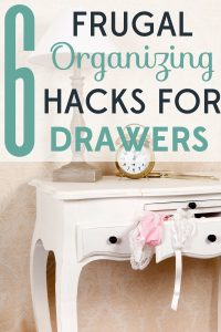 Are your drawers in disarray? You can make them neat and tidy for just a few dollars with these frugal organizing hacks.