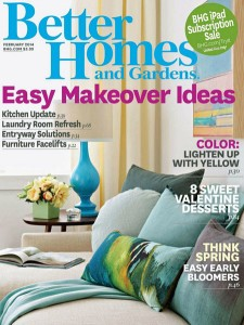 Today, Feb. 28, you can score a FREE subscription to Better Homes and Gardens!