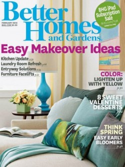 Friday Freebies – Free Better Homes and Gardens Magazine Subscription