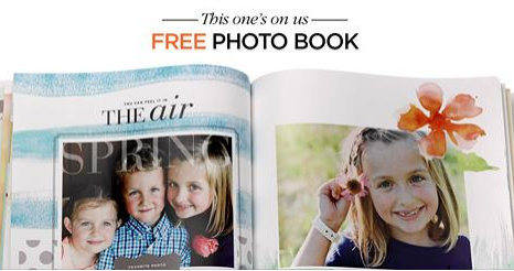 Wednesday Freebies – Free Hardcover Photo Book