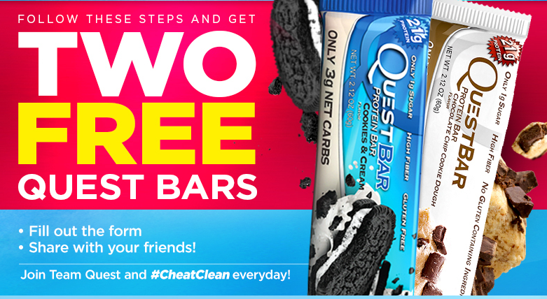 Wednesday Freebies – Free Quest Protein Bars