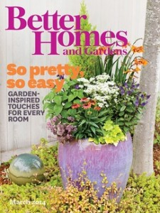 Score a FREE subscription to Better Homes and Gardens Magazine today!