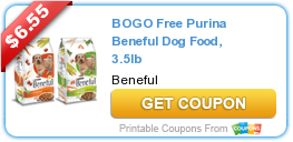 BOGO Free Dog and Cat Food Coupons