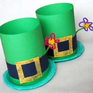 Perfect for kids to wear to St. Patrick's Day parades or parties! Via