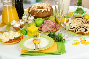 What's on your Easter Menu? Via Shutterstock.